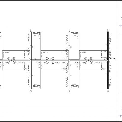 """Office in an Instant 6-Pack 6x8 Glass Straight 53""""H Cubicle Set Specifications"""