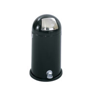 9 Gallon Dome Step-On Receptacle