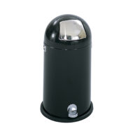 12 Gallon Dome Step-On Receptacle