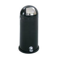 15 Gallon Dome Step-on Receptacle