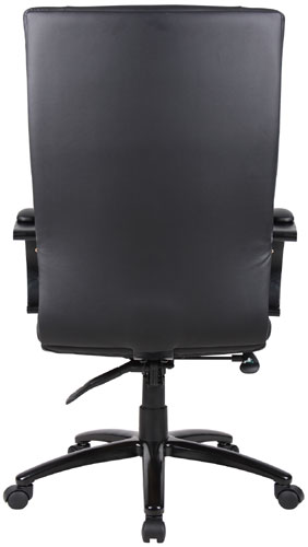 Aaria Collection Elektra High Back Chair/ Black Base / Black Upholstery-23812