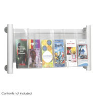 Luxe Magazine and Pamphlet Rack - 3 pocket