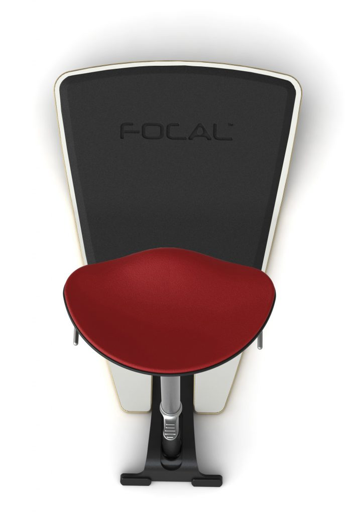 Locus Seat top view with mat