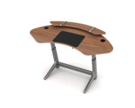 Sphere Desk with Shelf