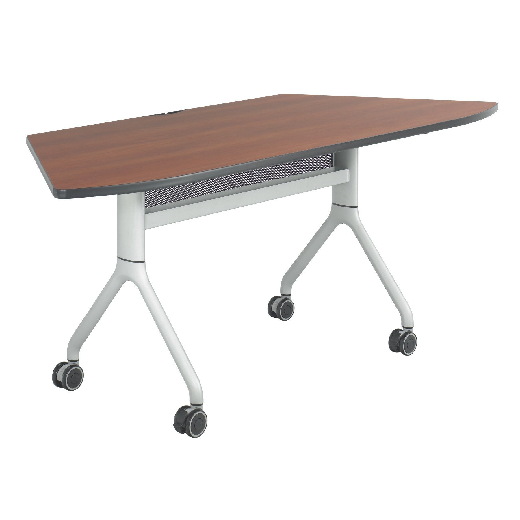 Rumba series trapezoid nesting conference table