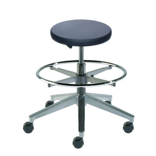BioFit Traxx Series TXA-M-RC Medium Height Stool