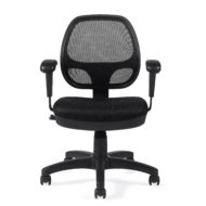 Offices To Go OTG11647B Mesh Back Managers Chair